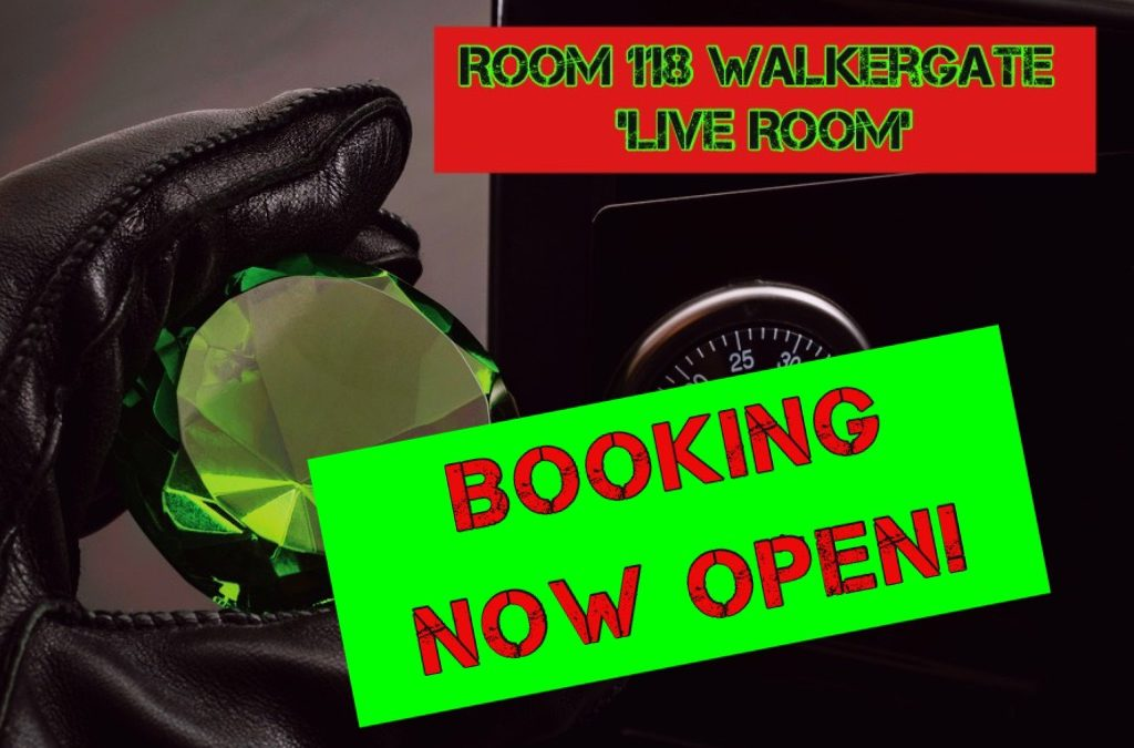 Yorkshire's only 100 minute Escape Room