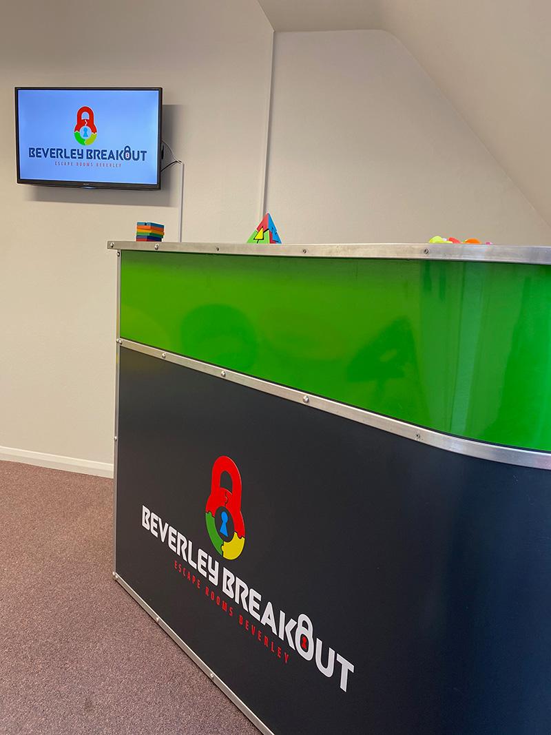 Beverley Breakout Escape Rooms Beverley - Reception