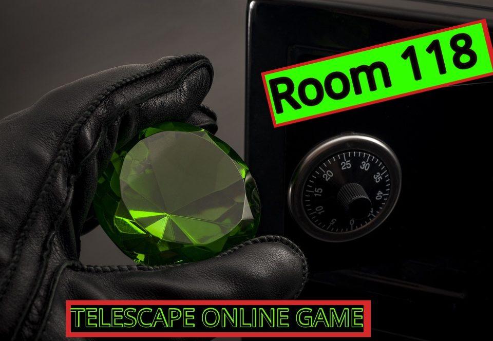 Room 118 digitalised online escape game